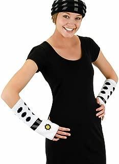 elope Dr. Who Dalek Knit Arm Warmers White