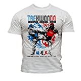 Dirty Ray Taekwondo camiseta hombre DT16 (XL)