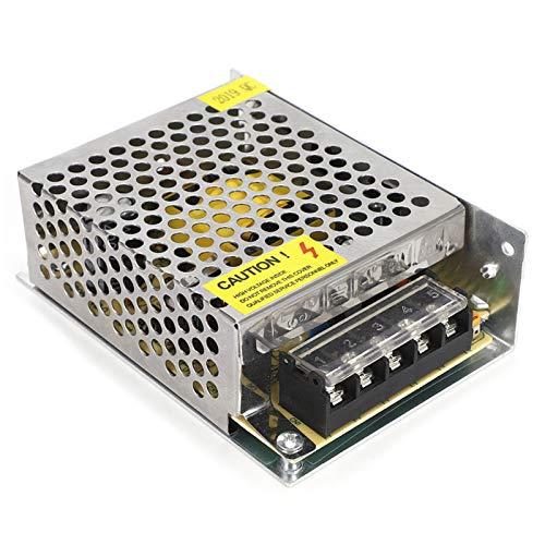 Pwshymi Fuente de alimentación conmutada Convertidor de Fuente de alimentación 80% eficiente para luz CCTV con Orificio de Panal