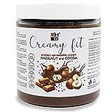 CREAMY FIT HB | Crema proteica AVELLANAS y CACAO 250g| 26% de proteínas, bajo azúcar