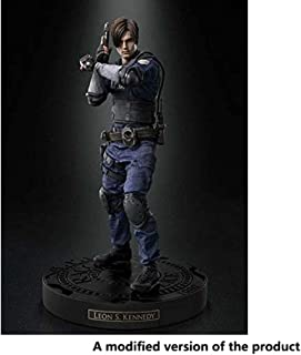 Huangyingui Resident Evil: Leon S. Kennedy PVC Figure - Highly Detailed Accurate Sculpt - High 12.6 Inches