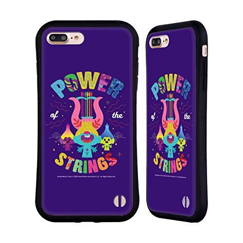Head Case Designs Ufficiale Trolls World Tour Legami Potenti Arte Chiave Cover Ibrida Compatibile con Apple iPhone 7 Plus/iPhone 8 Plus