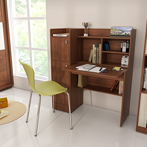 Spacewood Winner Study Table (Walnut Rigato)