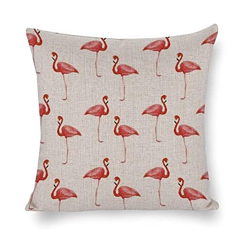 DKISEE Fundas de almohada Flex-Flamingo para dormitorio, sala de estar, 1 pieza