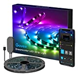 Govee Tv Led Light Strip, 6.56ft Tv backlights with app Control, Color Changing with Music, USB