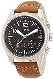 Esprit Chester ES106321001 - Reloj analógico de Cuarzo para Hombre, Correa de Cuero Color marrón