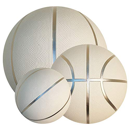 Best Review Of BESTSOCCERBUYS.COM White Basketball Ball for Autographs Signing Leisure Play Full Siz...