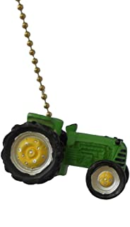 Green Farm TRACTOR Ceiling FAN PULL lamp chain by Clementine
