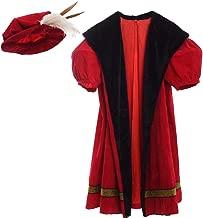 GRACERT Renaissance Men's King Henry VIII Costume with Hat