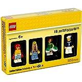 Juego de minifiguras de edición limitada City Bricktober 2017 compatible con LEGO