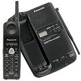 Panasonic KXTC1503B 900 MHz Digital Cordless Phone with Answering Device (Black)