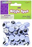 Chenille Kraft AC3445-01DI Jumbo Wiggle Eye, Assorted Size, Assorted Color (Pack of 100)