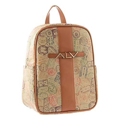 ALV by Alviero Martini - Zaino Backpack FASHION impermeabile e resistente, con tasca per IPAD da donna