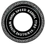 vom Pullach Hof Bouée de natation - Diamètre : 90 cm - Anneau de grande vitesse