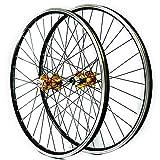 LICHUXIN 26 27,5 29 Pulgadas MTB Bicicleta De Montaña Juego De Ruedas Liberación Rápida Freno De Disco/V 7 8 9 10 11 Velocidad Casete Rueda Libre Pared Doble Aleación Aluminio Borde