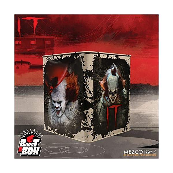 IT Pennywise Mezco Toyz Burst a Box Standard 5