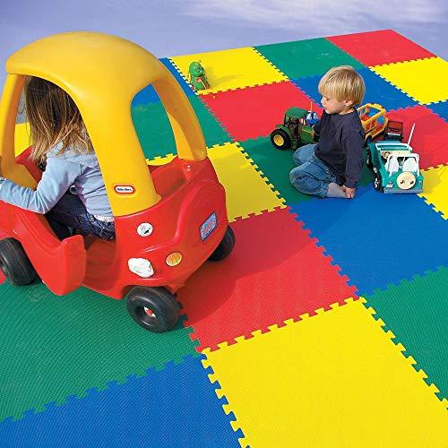 BLACK UFO PISO PARA BEBE, niños y niñas, tapete alfombra de foamy rompecabezas medida 1.22 x 1.22 mts. Seguro para jugar, ideal para el desarrollo psicomotriz...