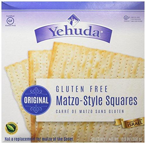 Yehuda Matzo-Style Squares, Gluten Free, 10.5 oz