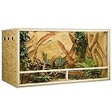 Holzkonzept OSB-Terrarium 150 x 80 x 80 cm Seitenbelüftung