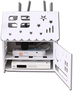 LULUDP Scatola di archiviazione Wireless Cavo di Ricarica modalità di Sicurezza Wi-Fi Router di memorizzazione, Soggiorno ...