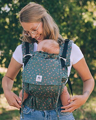 LIMAS Flex Babytrage Fullbuckle | 56-104 cm | Bauchtrage & Rückentrage & Onbuhimo | ab 2.-3. Monate bis 3+ Jahre | Baby Carrier | Hope