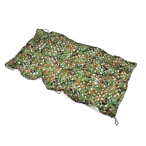 Markiezen Berg jungle camouflage net voor zonneklep zonnescherm zonnescherm zonnescherm zonnecrème net slaapkamer interior netwerk multigrootte optioneel (grootte: 5 * 6m) Carl Artbay Camouflage Ta 4*6m
