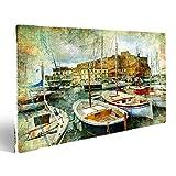 bilderfelix® Bild auf Leinwand Kunstbild im Malstil -