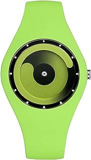 Andoer Watch Women Fashion Casual Quartz Watch Candy Color Men Watches Female Silicone Waterproof Sport Stylish Wristwatch...