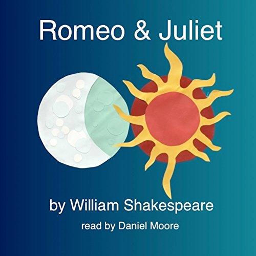William Shakespeare's Romeo & Juliet audiobook cover art