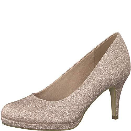 Tamaris Damen KlassischePumps 1-1-22464-32, Frauen Court-Shoes,Absatzschuhe,Abendschuhe,Stöckelschuhe,Touch-IT,Rose Glam,38 EU