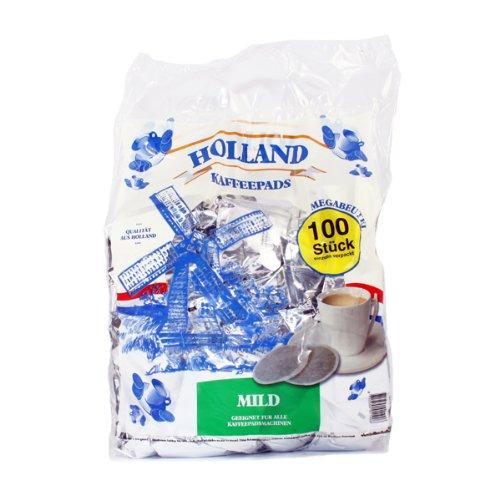 Holland KaffeePads Mild für Senseo Megabeutel 100 Stuck