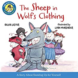 The Sheep in Wolf's Clothing (Laugh-Along Lessons) by [Helen Lester, Lynn Munsinger]