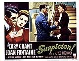 Posterazzi Suspicion Cary Grant Joan Fontaine 1941...
