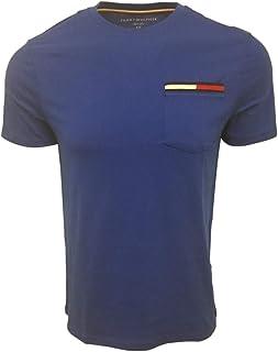 Men's Crewneck Colored Pocket T-Shirt