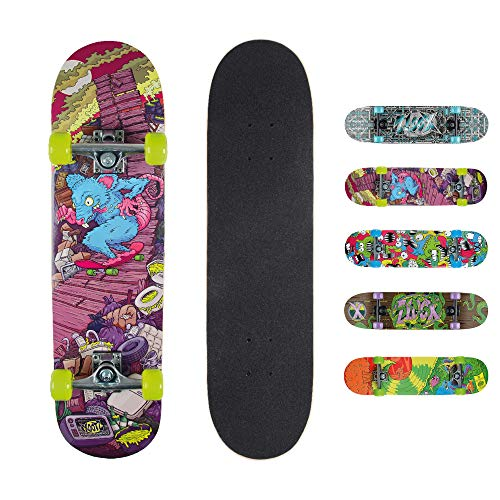 Xootz - Kinderskateboards in grün, Größe 31 x 8 inches