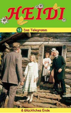 Preisvergleich Produktbild Heidi 13: Das Telegramm / Glückliches Ende [VHS]