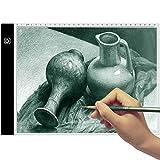 Mesa de Luz Dibujo A4 - TooTwo 3.5mm LED Tableta de Luz de Iluminación de la Caja de Alim...