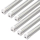 6-Pack Barrina 4ft 5000K T8 LED Grow Light