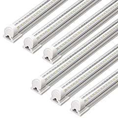 5000 lumens - More than 5000 lumens output each light, 40w low power consumption, save 75% on your electricity bill Easy installation - Plug and play, just use the included snap joints to hang it up and insert the plug to light it on. These led shop ...