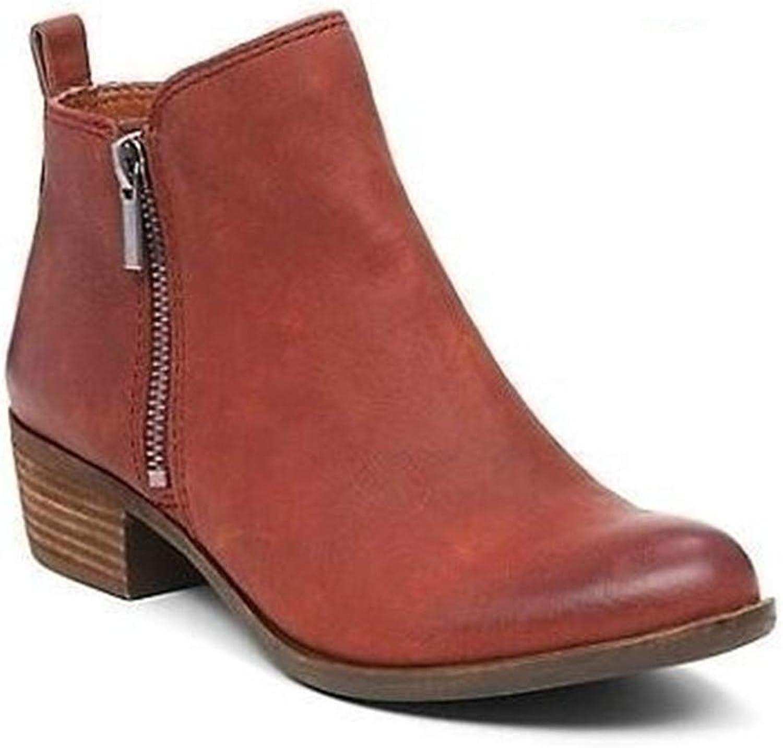 Guige Women Ankle Martin Boots Autumn Casual shoes Fashion Zipper Platform Comfortable