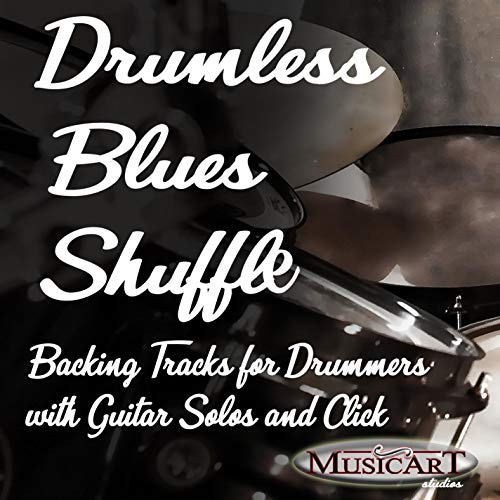 170 BPM boogie woogie backing track for Drums   drumless with Guitar Solo and Metronome