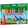 Lápices plásticos y de cera