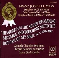 Haydn: Symphonies Nos. 21 & 96/Cello Concerto In C by et al Janos Starker (Performer) (1992-12-11)