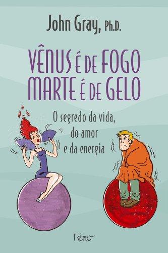 Vênus é de fogo, Marte é de gelo