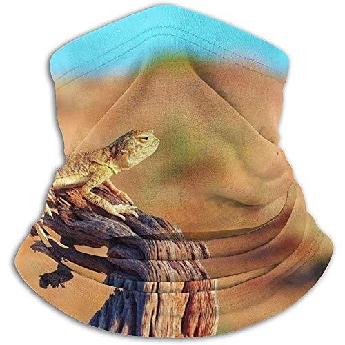 Desert Lizard Neck Gaiter Face Mask Bandana Seamless Headband Ski Riding Running