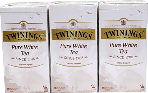 Twinings of London White Tee 3 x 25 Teebeutel