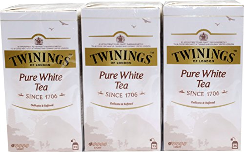 Twinings of London White Tee 3 x 25 Teebeutel