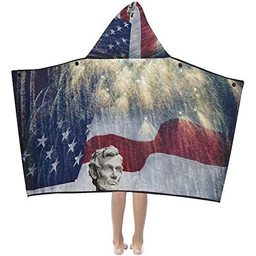 Darlene Ackerman(n) Manta para Tomar una Siesta Foto Estatua Abraham Lincoln...