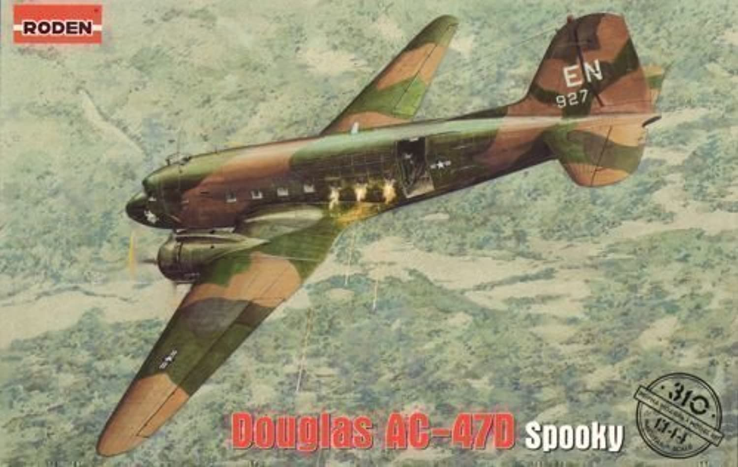 Roden 310 1 144 AC47D Spooky US Ground Attack Aircraft by