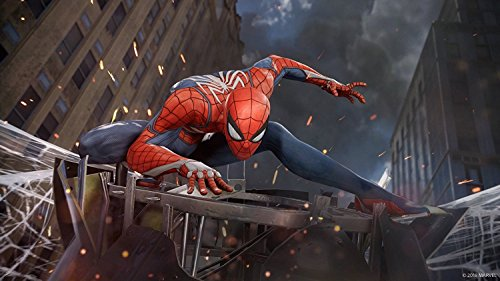 【PS4】Marvel's Spider-Man 【Amazon.co.jp限定】オリジナルPS4用テーマ (ダウンロード期限2019年9月7日) 配信